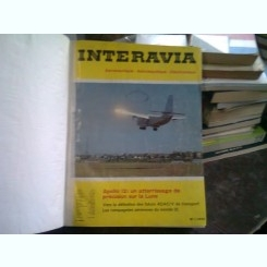 REVISTA INTERAVIA - 7 NUMERE/ IANUARIE-IULIE 1970