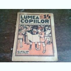 REVISTA LUMEA COPIILOR NR.14 ANUL I/1922