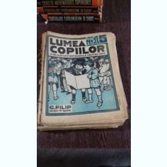 REVISTA LUMEA COPIILOR NR.15 ANUL I/1922