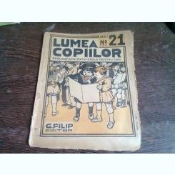 REVISTA LUMEA COPIILOR NR.21 ANUL I/1922