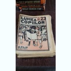 REVISTA LUMEA COPIILOR NR.23 ANUL I/1922