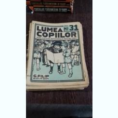 REVISTA LUMEA COPIILOR NR.31 ANUL I/1922