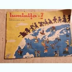REVISTA LUMINITA NR.7/1957 REVISTA CELOR MICI