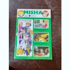 REVISTA MISHA NR.7/1987 (REVISTA PENTRU COPII, IN LIMBA ENGLEZA)