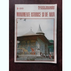 REVISTA MUZEELOR SI MONUMETELOR NR.2/1989, MONUMENTE ISTORICE SI DE ARTA