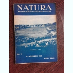 REVISTA NATURA NR.11/1938