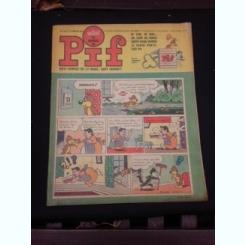 Revista Pif nr.1136/1967, text in limba franceza