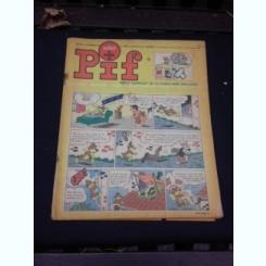 Revista Pif nr.1137/1967, text in limba franceza