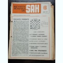 REVISTA ROMANA DE SAH NR.6/IUNIE 1979