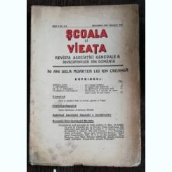 REVISTA SCOALA SI VIEATA - NR. 4-5 DEMEBRIE 1939 - IANUARIE 1940