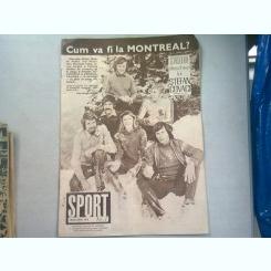 REVISTA SPORT NR.1/1976