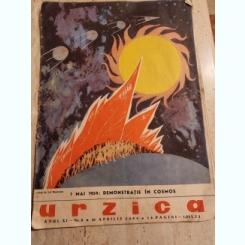 REVISTA URZICA, DE SATIRA SI UMOR NR8/1959