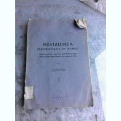 REVIZUIREA INSCRIERILOR IN BAROU - I. SPATARU