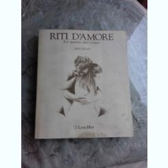 RITI D'AMORE - JERRY GILLIES  (CARTE IN LIMBA ITALIANA)