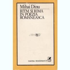 RITM SI RIMA IN POEZIA ROMANEASCA - MIHAI DINU