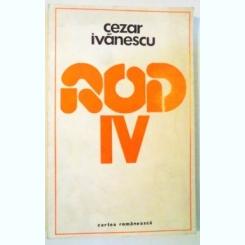 ROD IV DE CEZAR IVANESCU  , 1977