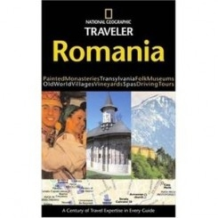 ROMANIA - GHID NATIONAL GEOGRAPHIC  (IN LIMBA ENGLEZA)