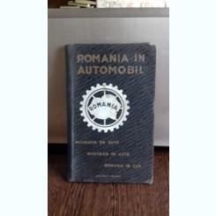 ROMANIA IN AUTOMOBIL  - GHID AUTO