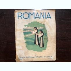 ROMANIA , REVISTA OFICIULUI NATIONAL DE TURISM , ANUL III,NR.5,MARTIE 1938