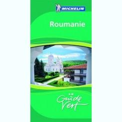 ROMANIA,GHIDUL VERDE ,EDITIE IN LIMBA FRANCEZA
