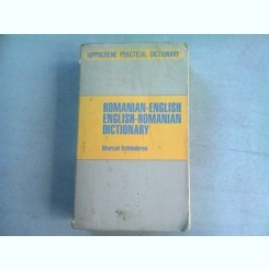 ROMANIAN ENGLISH, ENGLISH ROMANIAN DICTIONARY - MARCEA SCHONKRON