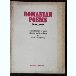 ROMANIAN POEMS - DAN DUTESCU E
