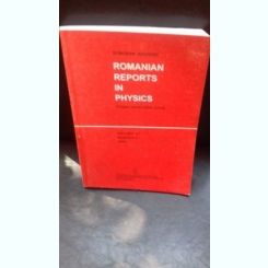ROMANIAN REPORTS IN PHYSICS - VOLUMUL 57/NUMAR 4