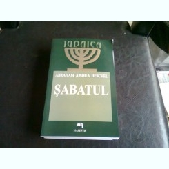 SABATUL - ABRAHAM JOSHUA HESCHEL