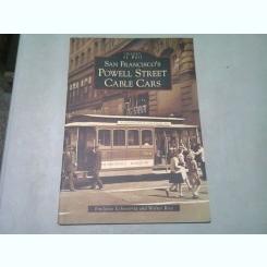 SAN FRANCISCO POWELL STREET CABLE CARS - IMAGE OF RAIL  (CARTE FOTOFRAFIE, TEXT IN LIMBA ENGLEZA)
