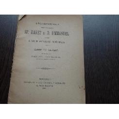 SARBATORIREA PROFESORILOR SP.HARET SI D.EMMANUEL
