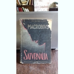 SATURNALIA - AMBROSIUS MACROBIUS THEODOSIUS