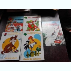 SET 5 CARTI DE COLORAT (DETALII IN DESCRIERE)