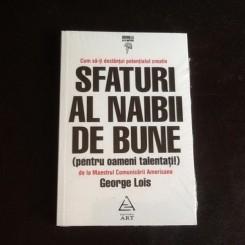 Sfaturi al naibii de bune - George Lois