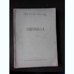 SIMFONIA I-A - ION DUMITRESCU  (PARTITURA)