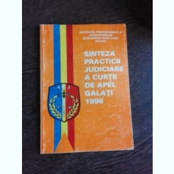 SINTEZA PRACTICII JUDICIARE A CURTII DE APEL GALATI, 1996