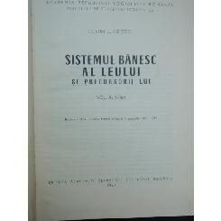 SISTEMUL BANESC AL LEULUI - COSTIN C. KIRITESCU