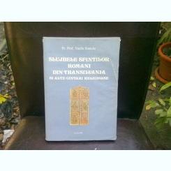 SLUJBELE SFINTILOR ROMANI DIN TRANSILVANIA - VASILE STANCIU