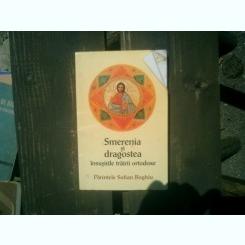 Smerenia si dragostea insusirilor trairii ortodoxe - Sofian Boghiu