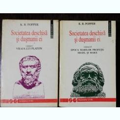 SOCIETATEA DESCHIS SI DUSMANII EI VOL.I / VOL II  -K.R.POPPER