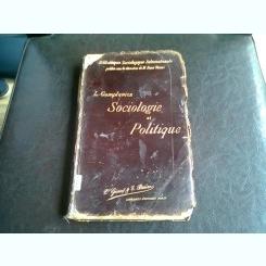 SOCIOLOGIE ET POLITIQUE - L. GUMPLOWICZ