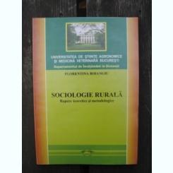 SOCIOLOGIE RURALA - FLORENTINA BOIANGIU