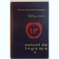 SOIURI DE LEGUME DE D. ANDORNICESCU, A. AVRAMESCU, 1970
