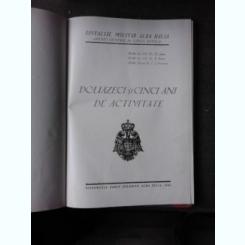 SPITALUL MILITAR ALBA IULIA, MEDIC GENERAL DR. CAROL DAVILA, DOUAZECI SI CINCI ANI DE ACTIVITATE