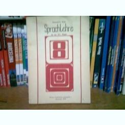 SPRACHLEHRE - HANNELORE BOCK  (MANUAL DE GERMANA, CLASA A VIII-A)