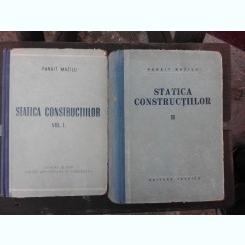 STATICA CONSTRUCTIILOR - PANAIT MAZILU   VOL.I+II