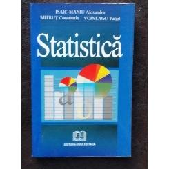 STATISTICA - ISAIC MANIU ALEXANDRU