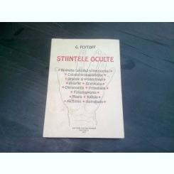 STIINTELE OCULTE - G. PLYTOFF