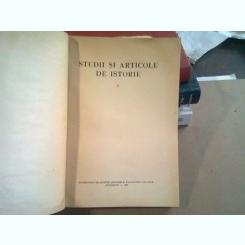 STUDII SI ARTICOLE DE ISTORIE  VOL.V