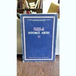STUDII SI CERCETARI DE ISTORIA ARTEI - TOMUL 3-4/1957