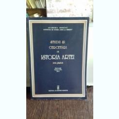 STUDII SI CERCETARI DE ISTORIA ARTEI - TOMUL 3(47)/2013